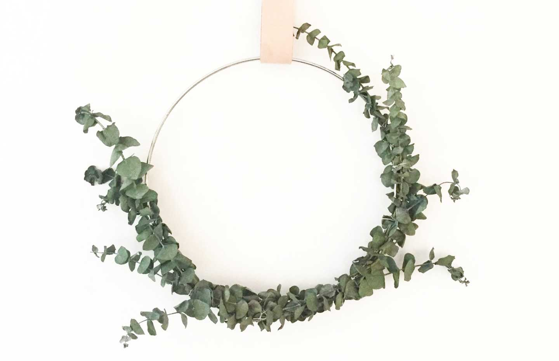 Modern wreaths