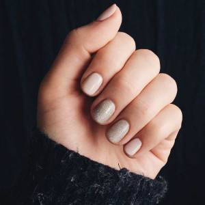 Nail care routine