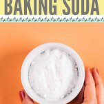 How to Clean with Baking Soda Pinterest Pin