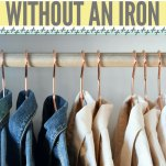 How to Remove Wrinkles From Clothes Without an Iron Pinterest Pin