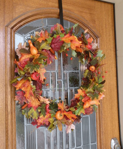 Leaf Fall Wreath