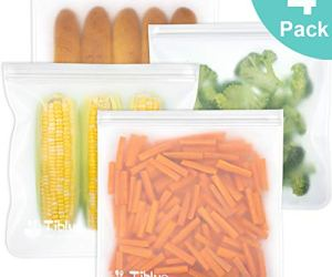 Reusable Gallon Food Storage Bags - LEAKPROOF