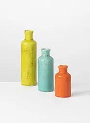 Rustic Fall vases