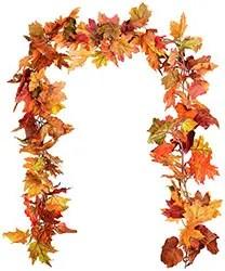 Fall garland decor