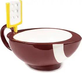 Football mug hot chocolate