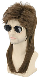 Mullet Wig for Halloween