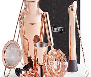 Rose Gold Cocktail set