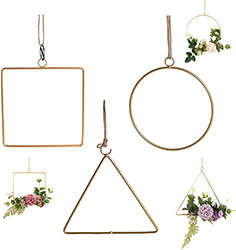 Geometric Scandi Wreath Frame Set