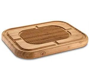 Wooden turkey carving board