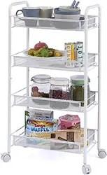 Kitchen Storage Organizer Utility Cart