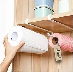 Cabinet Paper Roll Holder Rack