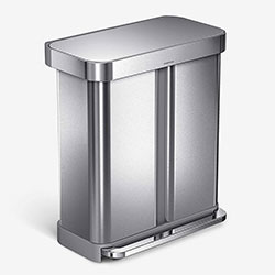simplehuman Hands Free Dual Compartment