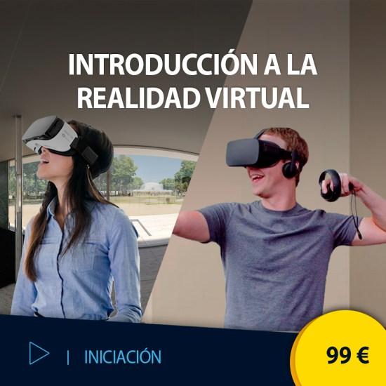 Curso online Introducción a la Realidad Virtual