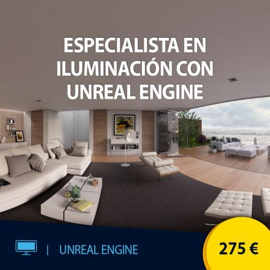 Curso online Especialista en interacción con Unreal Engine