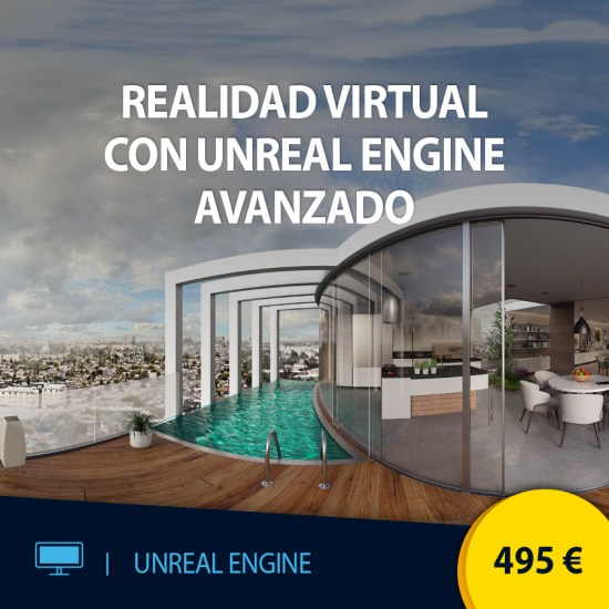 Curso online Realidad Virtual con Unreal Engine Avanzado