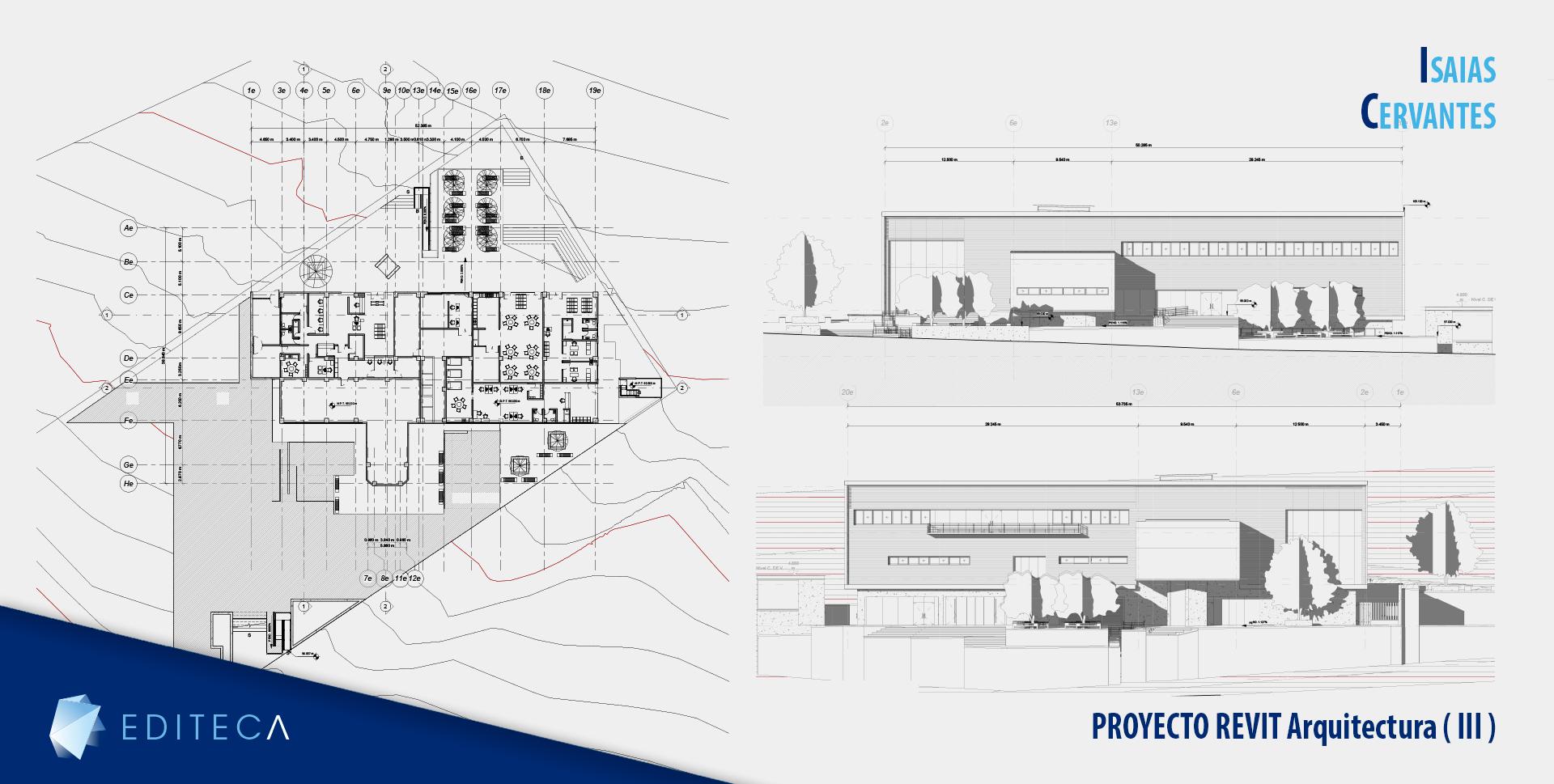 proyecto revit arquitectura 3 avanzado- isaias