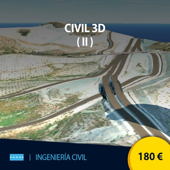 Curso online Civil 3D 2 Intermedio