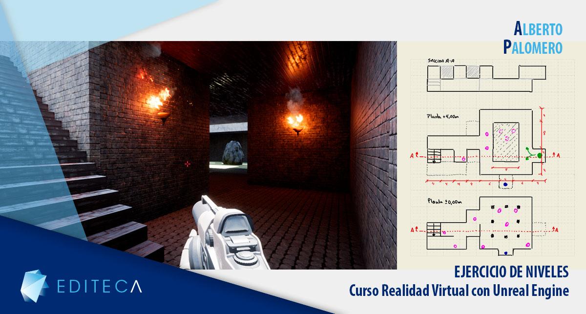 Blog cabecera proyecto VR Unreal Engine Alberto Palomero