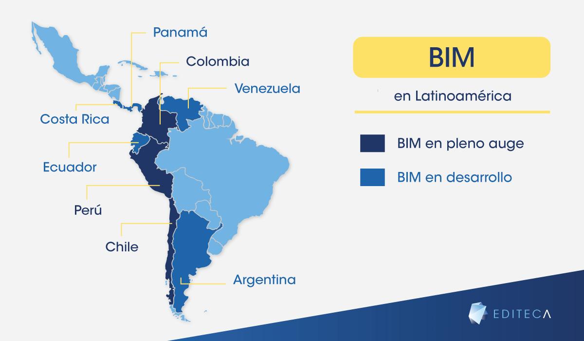 El BIM en Latinoamérica [Actualizado]   Editeca