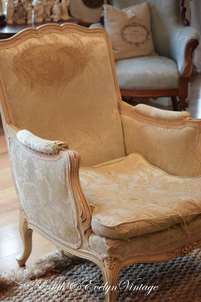 French Chair Rehab