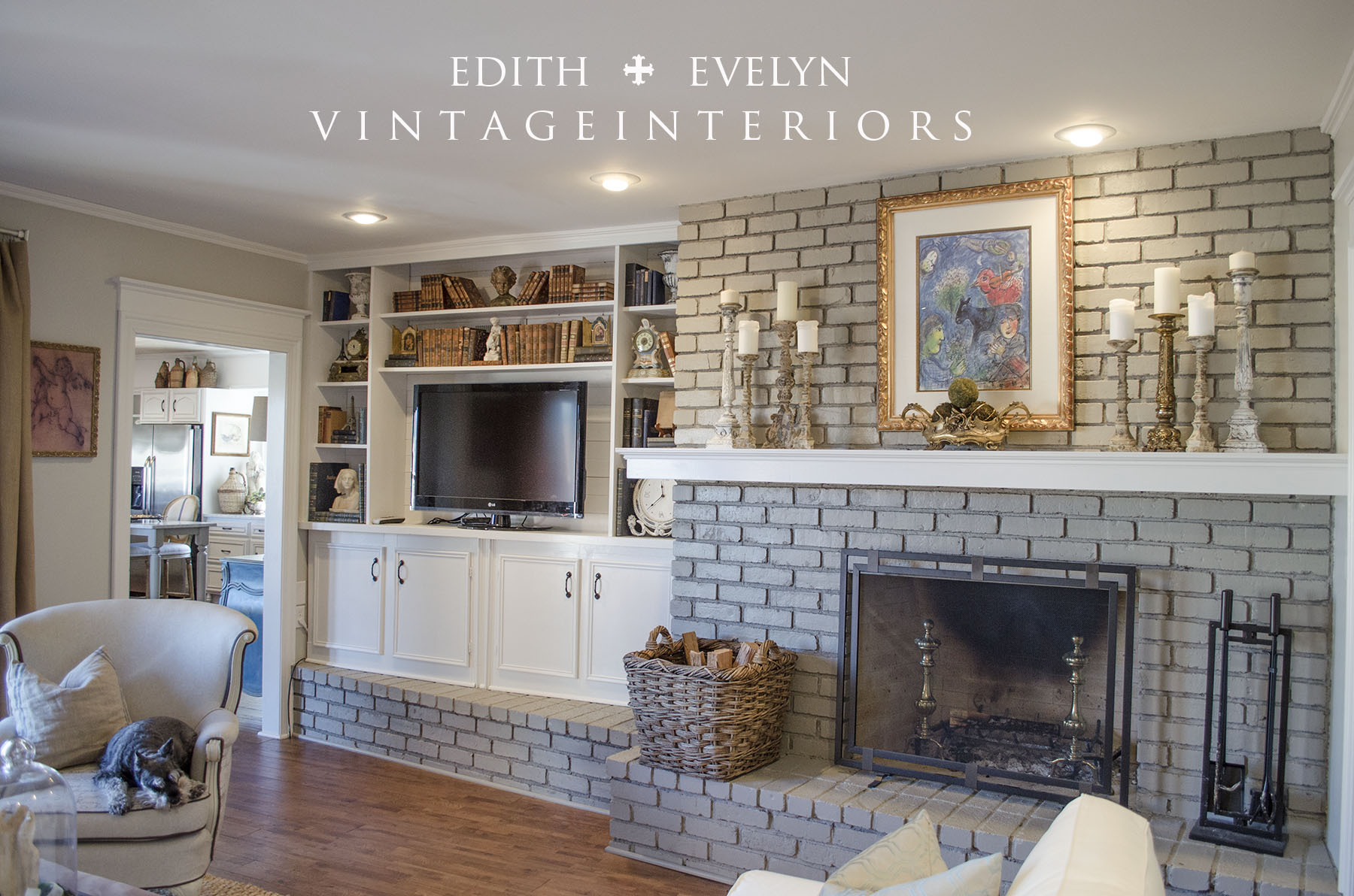 painting fireplace archives edith u0026 evelyn vintage