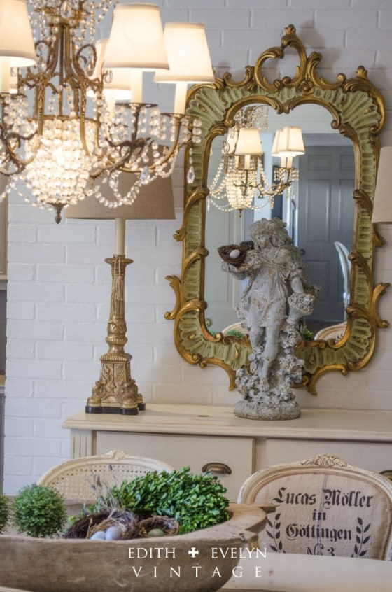 Transformation   Dining Room  Edith & Evelyn Vintage