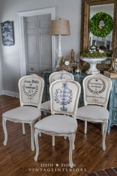 Monthly Contributor~French Chair Makeover