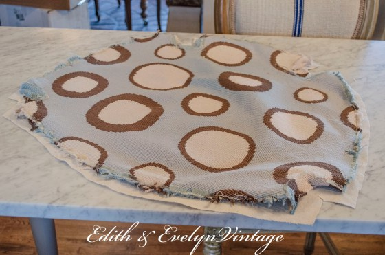 How to Create Your Own Grain Sack with Drop Cloths | Edith & Evelyn | www.edithandevelynvintage.com