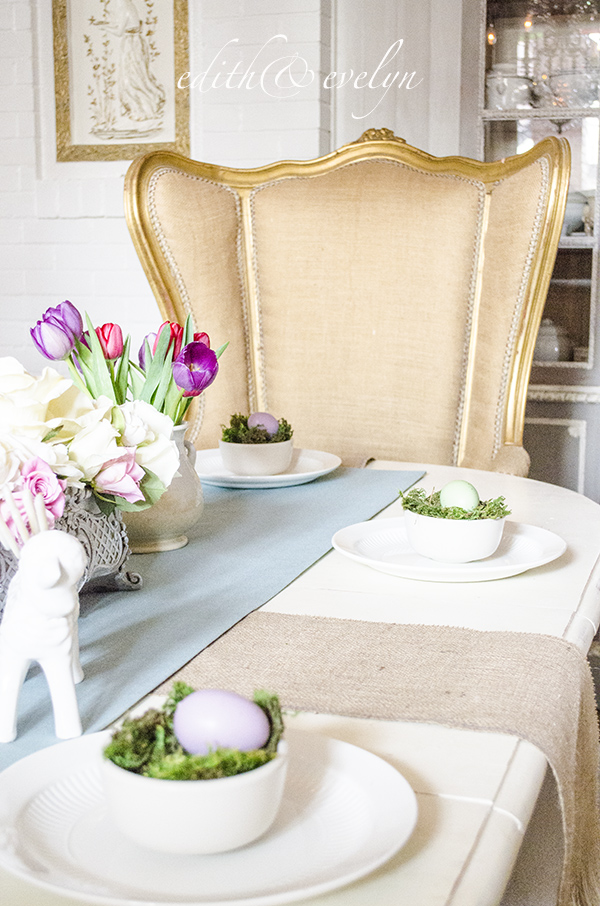 Touches of Spring | Edith & Evelyn | www.edithandevelynvintage.com
