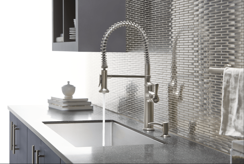 Jewelry for the Sink | Kohler Faucets | www.edithandevelynvintage.com