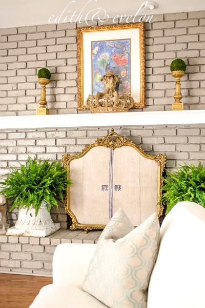 Creating a Fireplace Screen