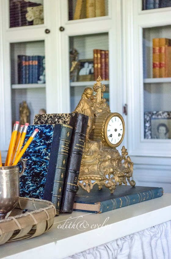 The Study Renovation | Final Reveal | Edith & Evelyn Vintage | www.edithandevelynvintage.com