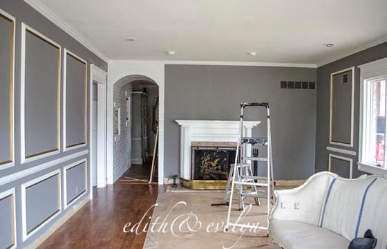 Living Room Update | Edith & Evelyn Vintage | www.edithandevelynvintage.com
