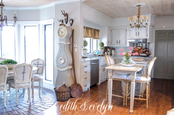 Decorating with Copper in the Kitchen | Edith & Evelyn | www.edithandevelynvintage.com