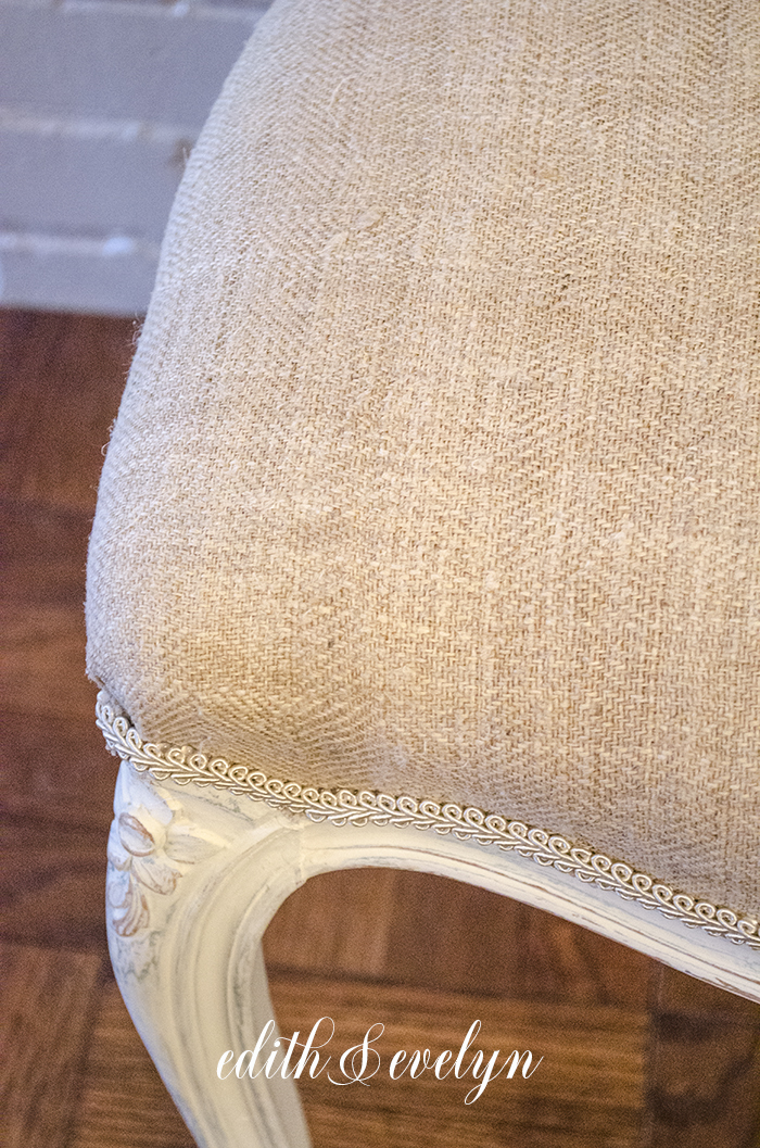 Homemade Glaze and Cane Chairs   Edith & Evelyn   www.edithandevelynvintage.com