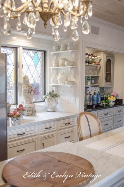French Country Fridays | A French Country Kitchen, Painted Cupboards, Ironstone, and More!