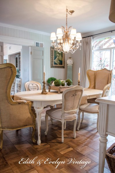 French Country Fridays No. 10 ~ Dining Rooms, French Farmhouse, and More!