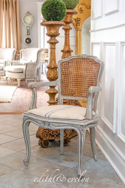 French Country Fridays  ~ A French Chair Redo, Summer Decor, Romance and More!