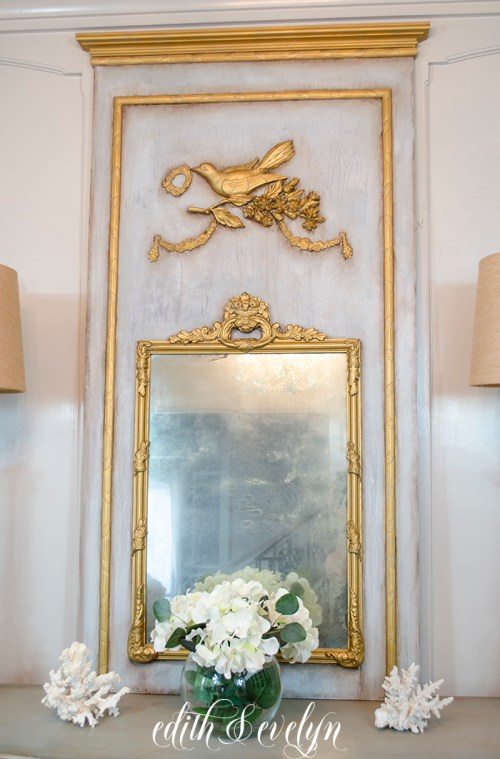 How To Create A French Trumeau Mirror Edith Amp Evelyn