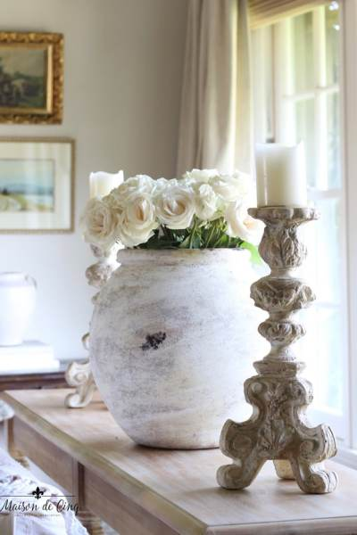 French Olive Jars, Autumn Flowers, French Decor And More!