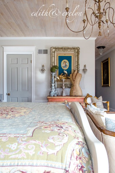 French Bedrooms, Kitchens, A Mora Clock, and More!