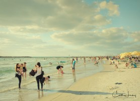 Tel Aviv, Israel, beach, summertime, Gordon Beach, sea, Mediterranean, travel photography