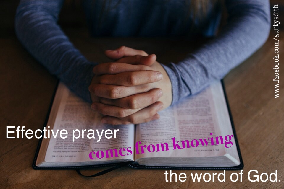 BIBLE STUDY AIDS PRAYER