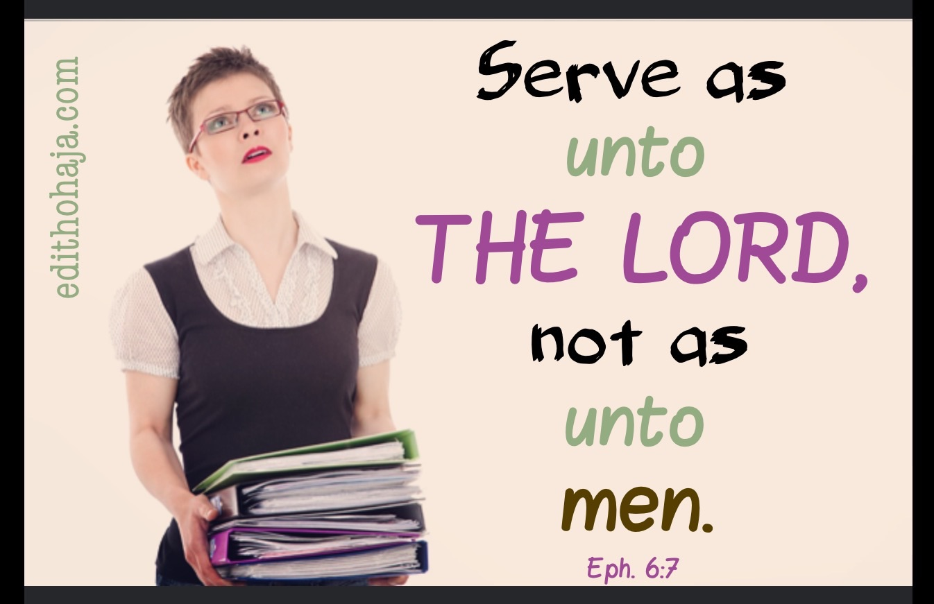 HOW TO UPHOLD GOD'S STANDARDS IN OUR WORKPLACES #2 by ROBIN COLEMAN