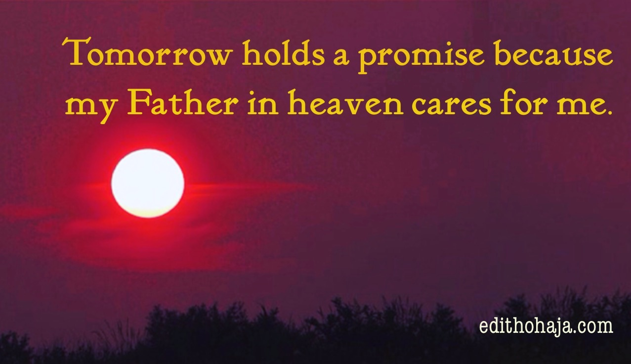 TOMORROW HOLDS A PROMISE (SHORT STORY)
