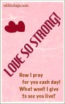 LOVE SO STRONG!!! (SHORT STORY)