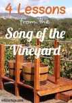 4 LESSONS FROM THE SONG OF THE VINEYARD