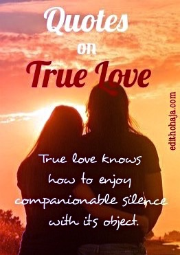 10 QUOTES ON TRUE LOVE