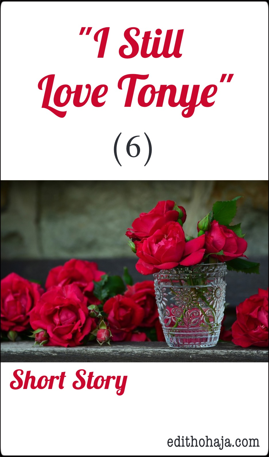 """I STILL LOVE TONYE"" (6) SHORT STORY"