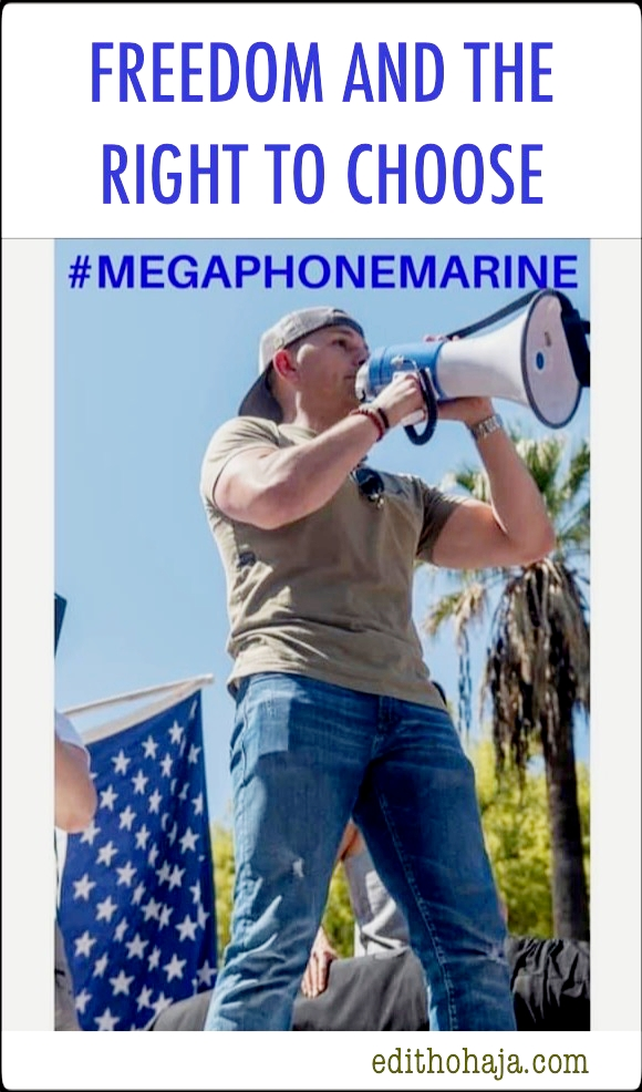 COVID-19 Lockdown Protests: #MEGAPHONEMARINE- FREEDOM AND THE RIGHT TO CHOOSE